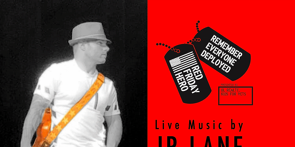 RED Friday w/ JP Lane, LIVE