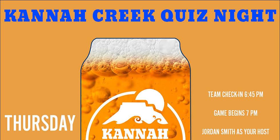 Kannah Creek Quiz Night: All Things Beer