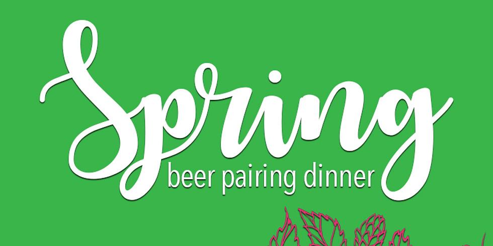 Spring Beer Pairing Dinner