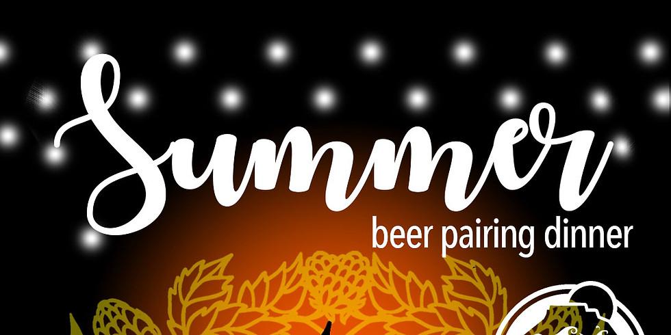 Summer Beer Pairing Dinner