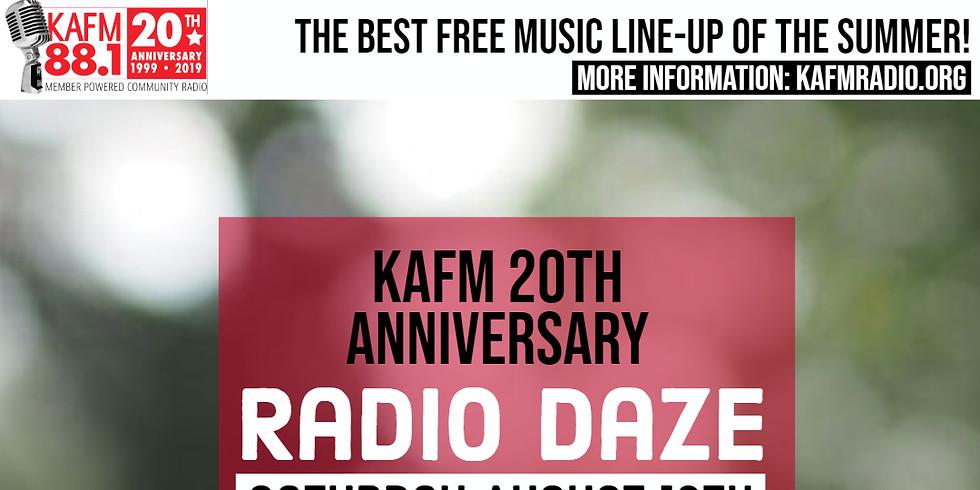 KAFM Radio Daze - Live Music