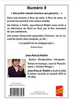 Guitare Rouge British rock façon frenchy livre numéro 9