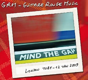 Guitare Rouge British rock façon frenchy CD album Mind The Gap