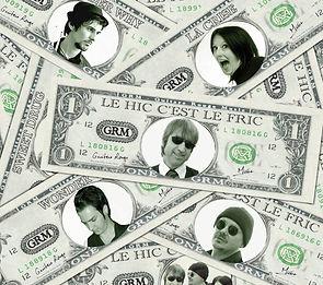Guitare Rouge British rock façon frenchy EP Le Hic C'est Le Fric (1).jpg