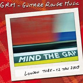 Guitare Rouge British rock façon frenchy CD Album Mind The Gap