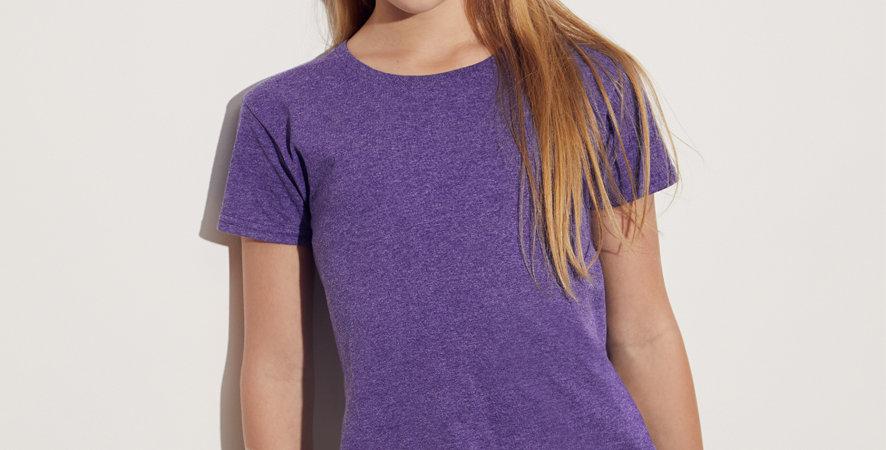 Majica za djevojčice Fruit Of The Loom Iconic Girls majica