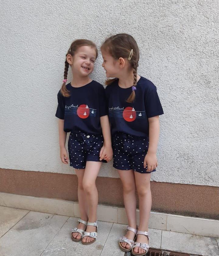 Kids wearing Makarska Jazz Festival T-shirts