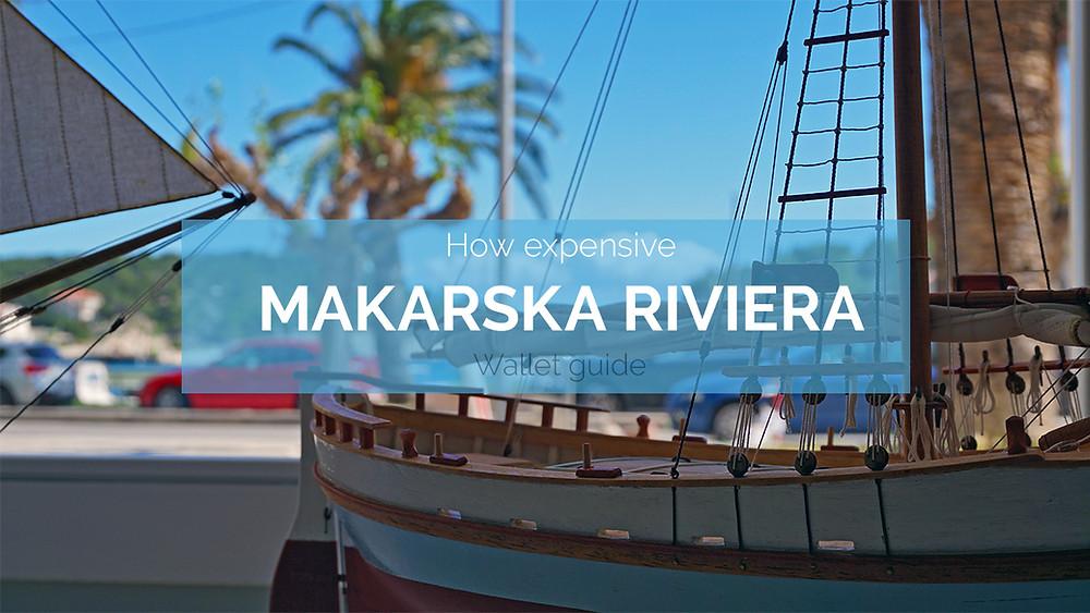 Prices in Makarska Riviera