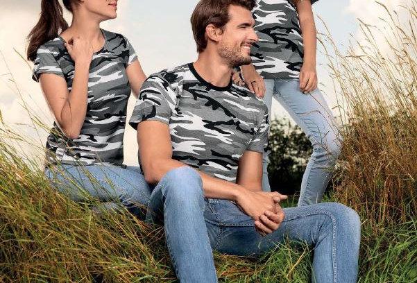 Camouflage T-Shirt majica unisex