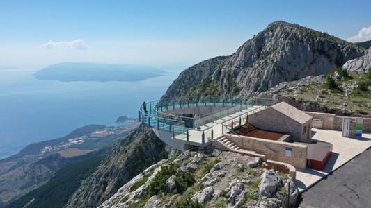 Makarska Riviera's biggest attraction Skywalk Biokovo