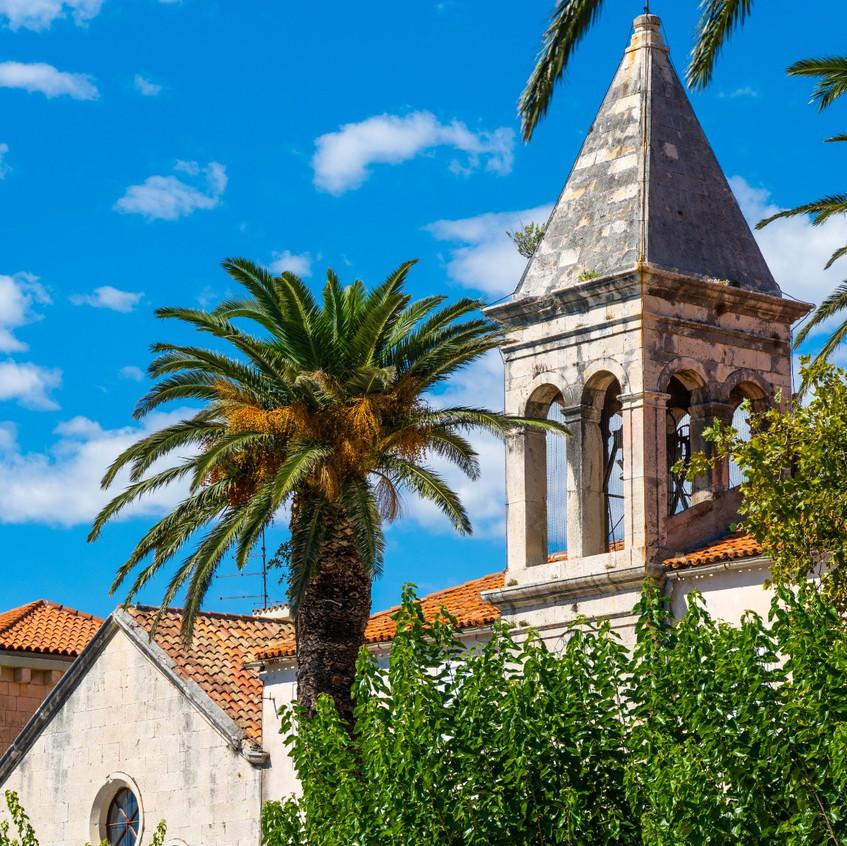 Old church in Makarska