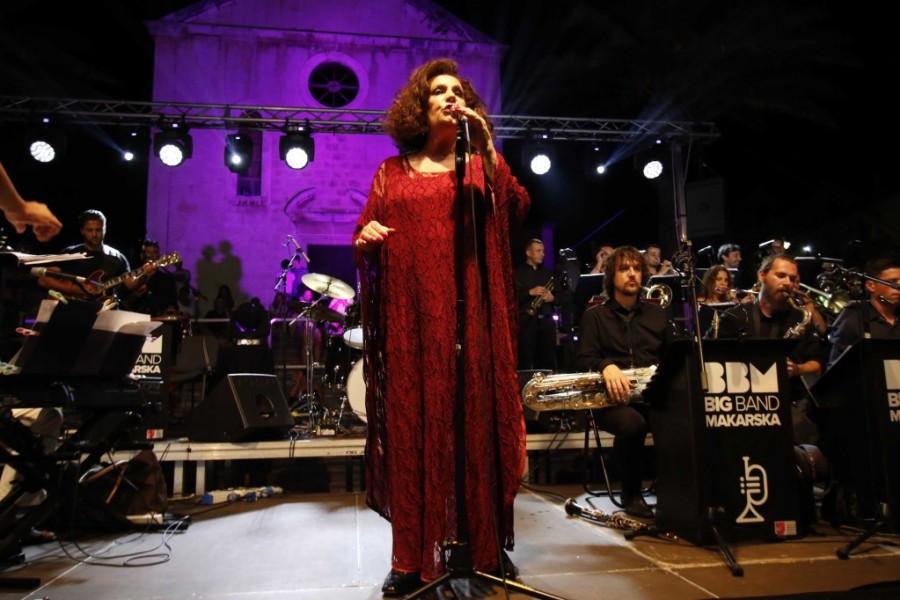 Big Band Makarska performing on Makarska Jazz Festival