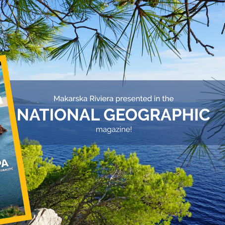 Makarska Riviera in the National Geographic magazine