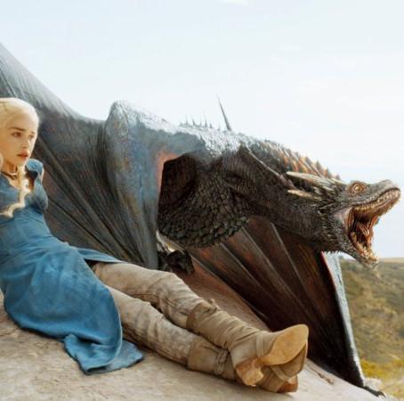 Dragons above Makarska Riviera