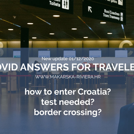 Answers to frequently asked questions about traveling to Croatia