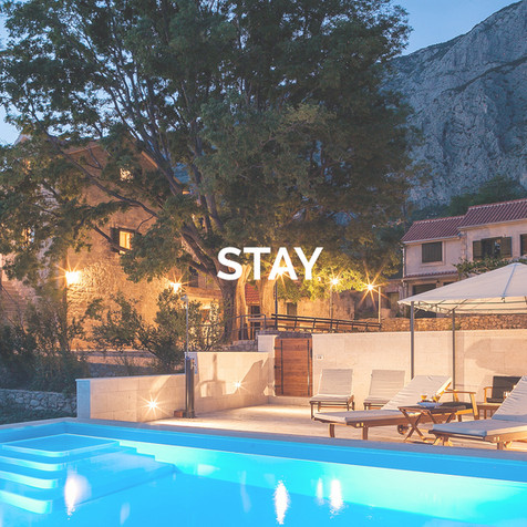 Accommodation in the Makarska Riviera