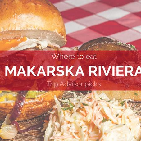 Trip Advisor's top 10 restaurants in Makarska