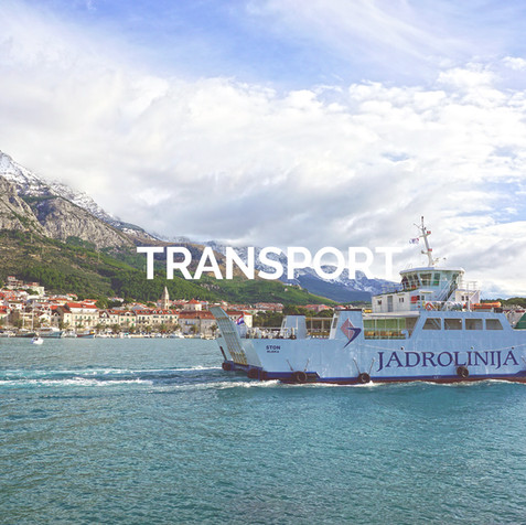 How to move around Makarska Riviera