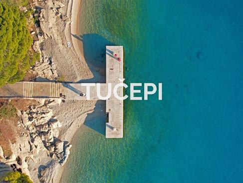 Makarska Riviera's longest beach