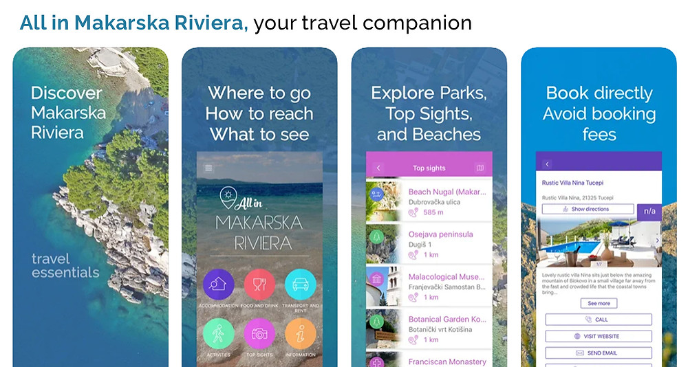 Free mobile guide All in Makarska Riviera screenshots
