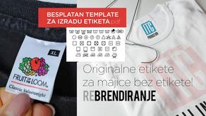 Kako napraviti originalne etikete za svoju odjeću?