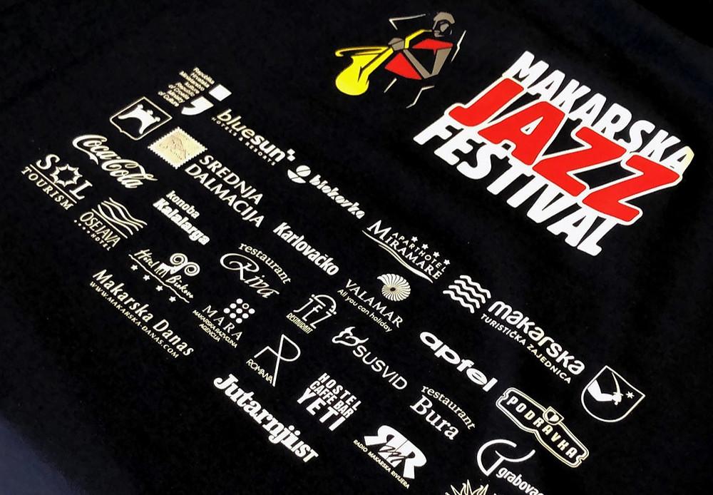 Sponzorske majice za Jazz Festival