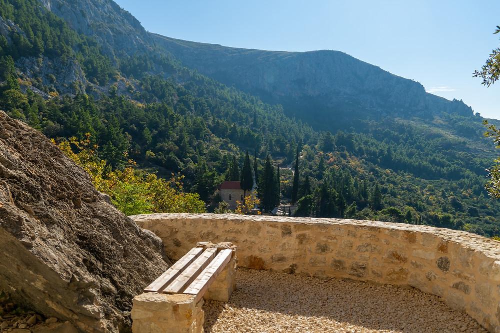 Lookout from The Grand Castle, Kotisina, Makarska