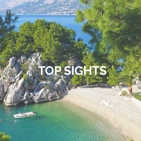 Discover all the top sights in the Makarska Riviera