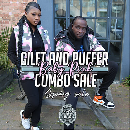 Gilet And Puffer Combo Sale