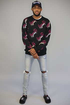 Splash Wear Knitted Pull Over