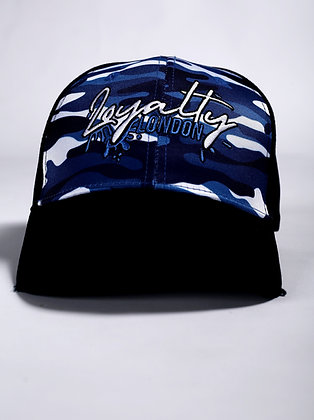 Sky Blue Navy Camo Splash Wear Baseball Caps New Edition