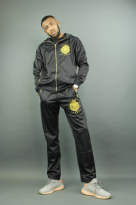 Gold Edition Hoodie Tracksuit (Loose Fit Bottoms)