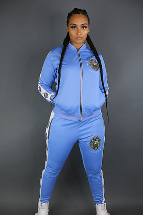 Women's Zip Fit Tracksuit (Multicoloured Embroidery Limited Edition)