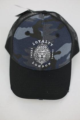 Blue/Grey Baseball Caps