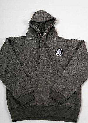 Charcoal Grey K.O.T.J Patch Hoodie Jumper