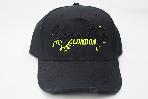 Black/Neon Splash Wear Baseball Caps New Edition