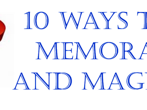 10 Ways To Be Memorable And Magnetic