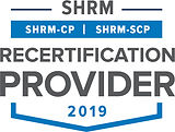 SHRM Recertification Provider - 2019 Sea