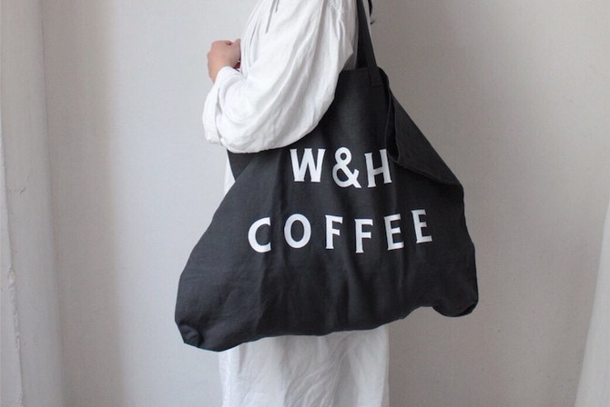 WEB SHOP will open tomorrow for W&H LINEN TOTE.