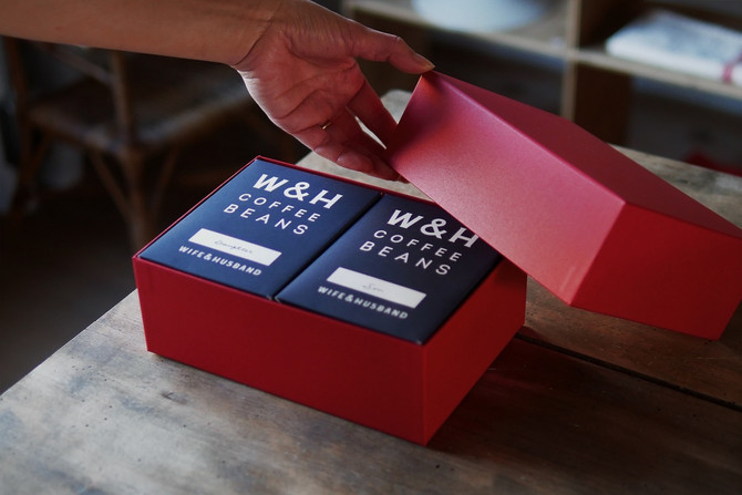 W&H COFFEE GIFT SET launched