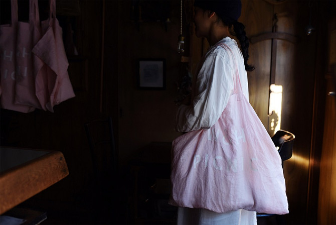 We will open our WEB SHOP for W&H LINEN TOTE.