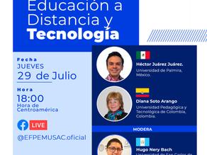 """Conversatorio """"Educación a distancia y tecnología"""""""