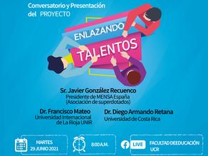 """Conversatorio y presentación del proyecto """"Enlazando Talentos"""""""