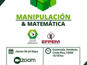 """Jornada de talleres """"Manipulación & Matemática""""."""