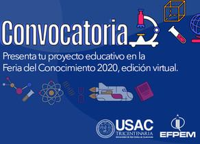 Convocatoria a participar en la Feria del Conocimiento 2020