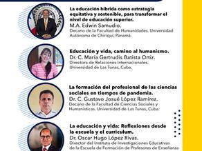 """Webinar """"Educación en pandemia"""""""
