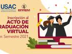 Inscripción al Acto de Graduación de Profesorados de Enseñanza Media - 1er. Semestre 2021