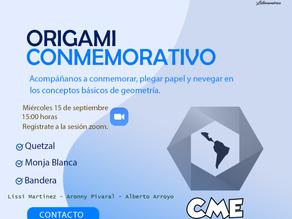 Taller de origami conmemorativo
