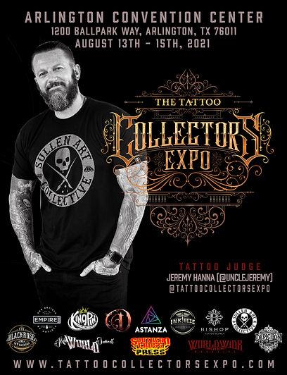 Tattoo Collectors Tattoo Judge Jeremy Ha