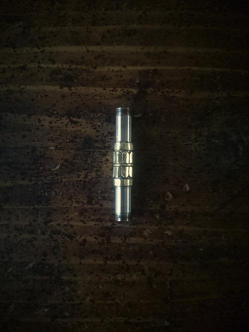 錫杖羅宇 真鍮製